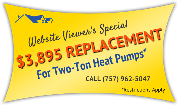 Install A New Heat Pump In Your Virginia Beach Va Home With Hvac Warehouse